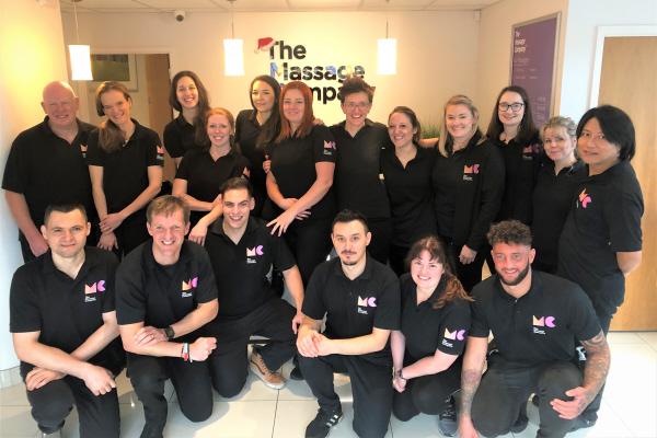 Massage Company Team Photo